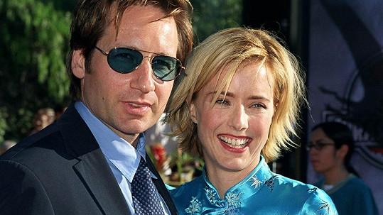 David Duchovny s exmanželkou