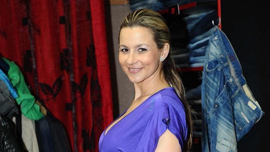 Monika Marešová - poslední foto před operací.