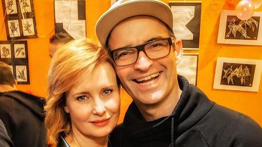 Jitka Schneiderová a Mikuláš Křen