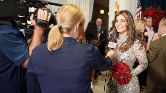 Claudia chtěla vypadat co nejvíc jako manželka amerického prezidenta.