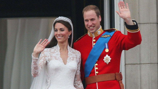 Kate a William slaví sedmé výročí sňatku.