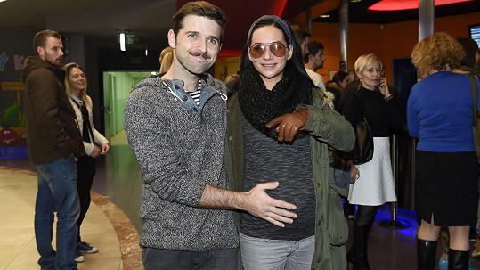 Na miminko se Sandra Nováková i její partner těší.