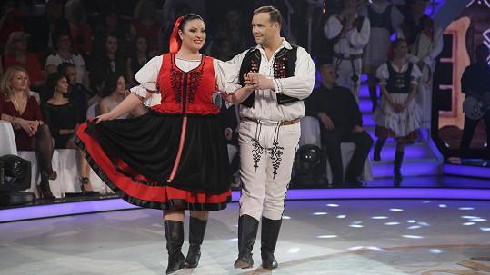 Ivana Christová a Radoslav Kováčik v minulém kole vypadli.