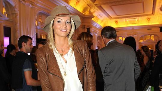 Tereza patří mezi nejkrásnější fotbalové manželky.