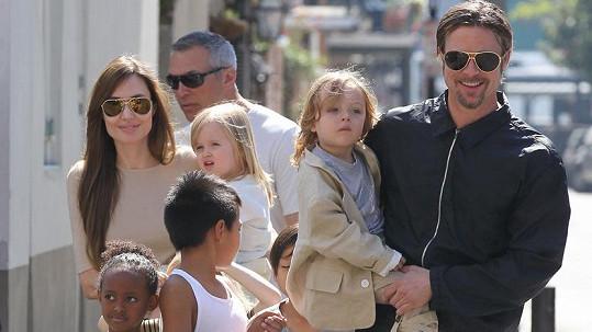 Brad Pitt se nehodlá vzdát svých dětí.