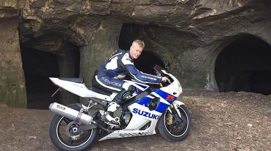 Jana Veličku zabila jeho velká vášeň - jízda na motorce