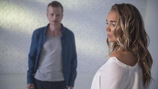 Lucie Vondráčková a Matěj Hádek spolu účinkovali v klipu.