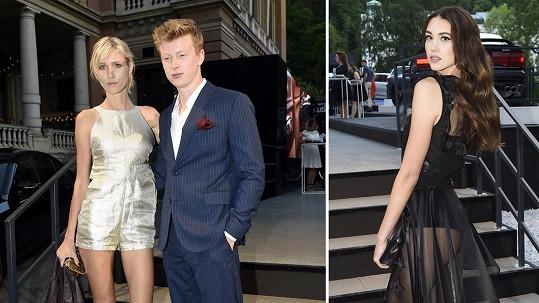 Adam Mišík s novou přítelkyní se na párty potkali i s jeho bývalkou Denisou Spergerovou.