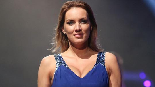 Lucie Králová byla hvězdou módní show.