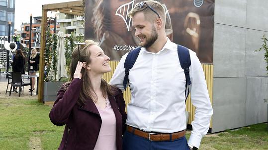 Pavlína Lubojatzky s manželem Martinem