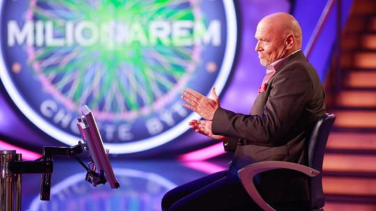 Marek Vašut je novým moderátorem soutěže Chcete být milionářem?