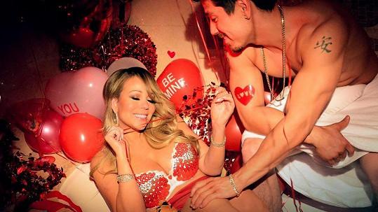 Mariah Carey se pochlubila valentýnskou fotkou.