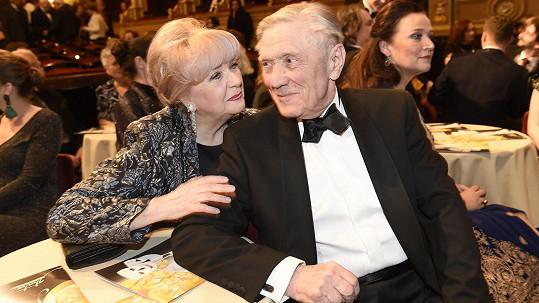 Carmen Mayerová a Petr Kostka spolu žijí téměř padesát let.