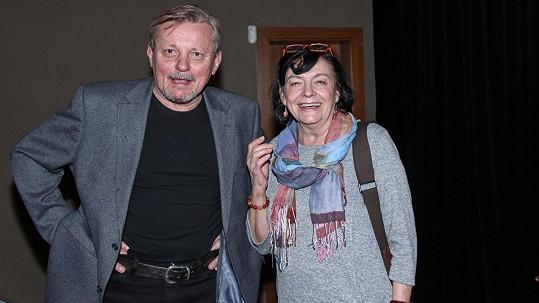Svatopluk Skopal s manželkou Lenkou