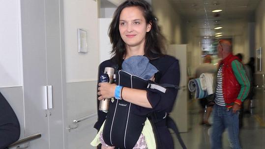 Jana Kirschner cestuje i s dcerkou Yolandou.
