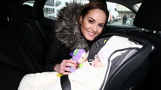 Renata Czadernová s dcerou Adélkou