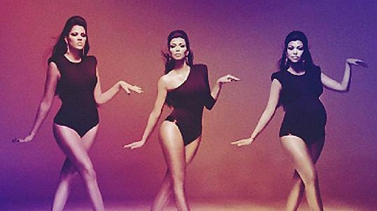 Kardashianky se oblékly jako Beyoncé a její tanečnice v klipu Single Ladies.
