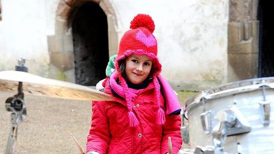 Dcera Roberta Kodyma Amélie je velmi roztomilá.