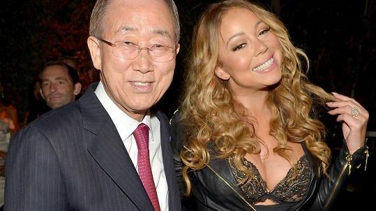Mariah Carey překvapila významného muže.