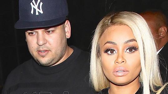 Rob Kardashian a Blac Chyna šli zásnuby zapít do strip baru.