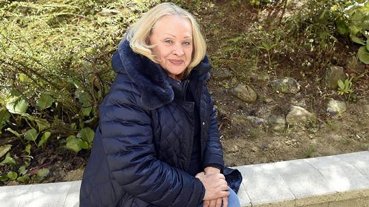 Věra Křesadlová se raduje, že má za sebou obě dávky očkování.