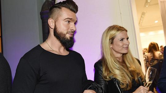 Malina a Vojtková poprvé oficiálně na veřejnosti jako pár