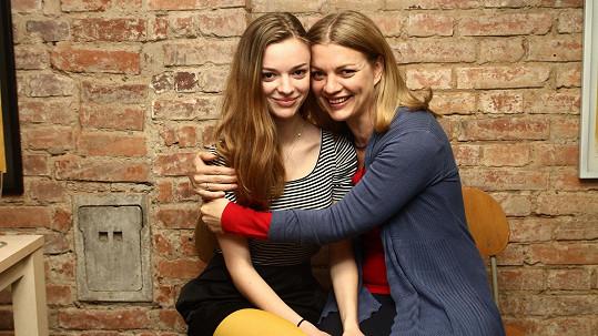 Bára Srncová a její dcera Emma