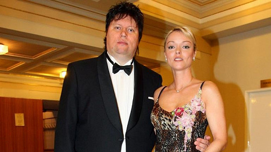 Dominika Gottová s manželem Timem Tolkkim na archivním snímku