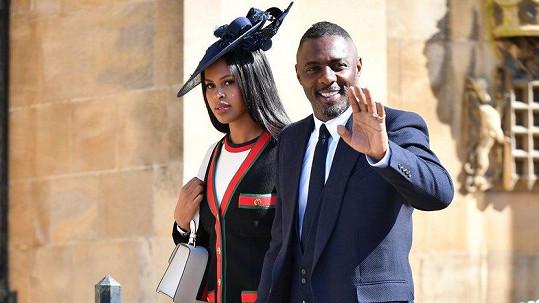 Idris Elba s nyní již manželkou Sabrinou Dhowre