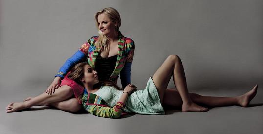 Gabriela Filippi s dcerkou Sofií, která půvaby zdědila a má našlápnuto na skvělou kariéru.