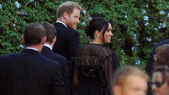 Manželé na italské svatbě.