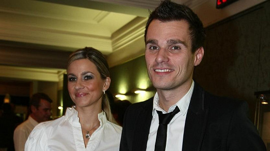 Monika Marešová a Leoš Mareš na snímku z roku 2008
