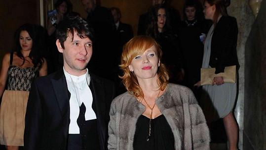 Aňa Geislerová s manželem Zdeňkem Janáčkem.