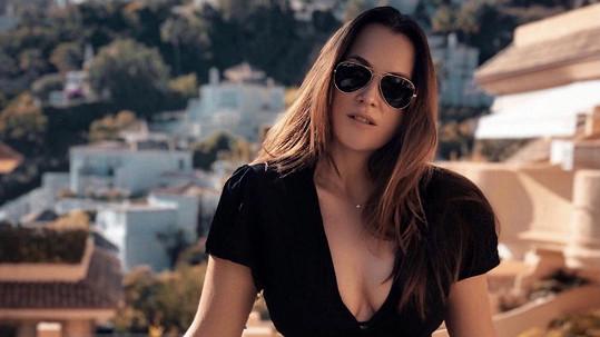 Kateřina Sokolová si užívá slunce na jihu Španělska.