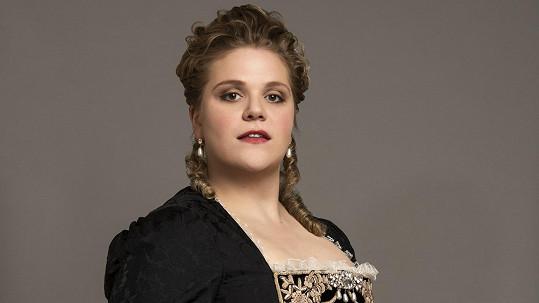 Rakouská herečka Stefanie Reinsperger je novou Marií Terezií.