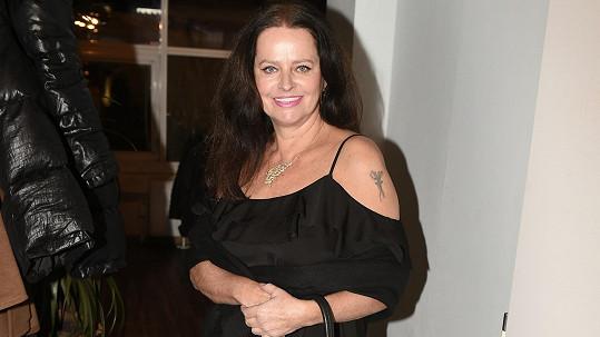 Adina Sobotová na večírku