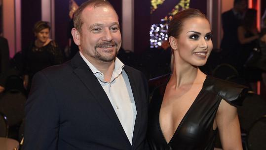 Marek Taclík s tanečnicí Martinou Markovou