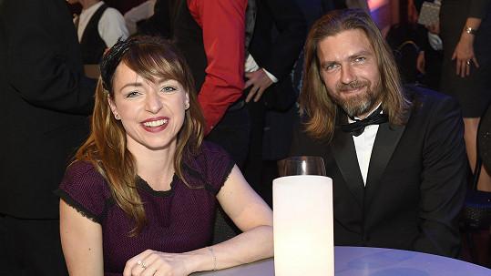 Tatiana Vilhelmová a Petr Čadek