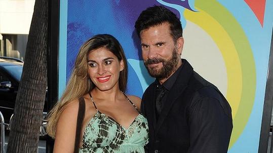 Lorenzo Lamas s manželkou, která mu porodila vnuka.
