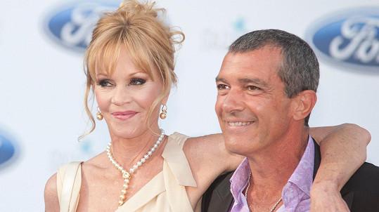 Banderas a Griffith už netvoří manželský pár.