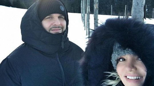 Rytmus a Dara si užívají pravou českou zimu.