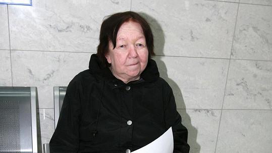 Jaroslava Hanušová zemřela na selhání organismu.
