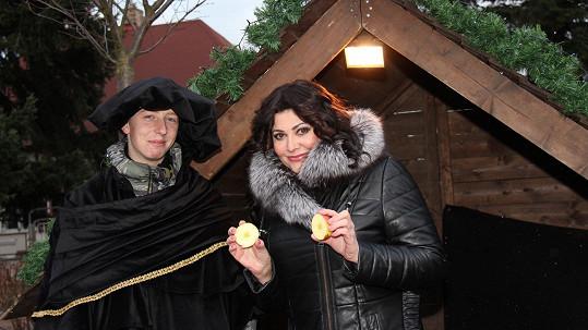 Ilona Csáková na Vánoce dodržuje tradice.