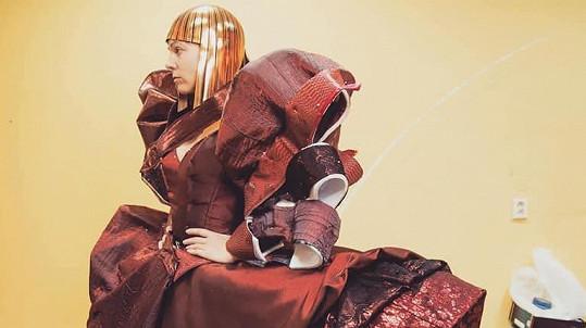 Michaela Nosková musela tvrdě makat, aby mohla nosit tento kostým.