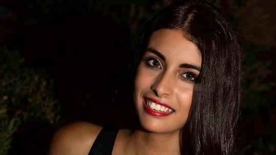 Ahlam El Brinis touží po korunce Miss Itálie.