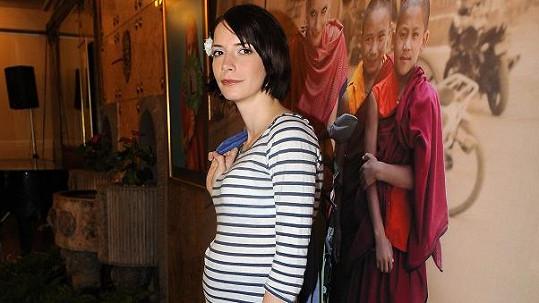 Dorota Nvotová se stala maminkou.
