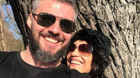 Lucie Bílá a Radek Filipi tvoří dokonalý pár.