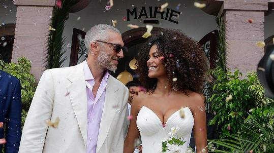 Vincent Cassel se v pátek oženil s Tinou Kunakey