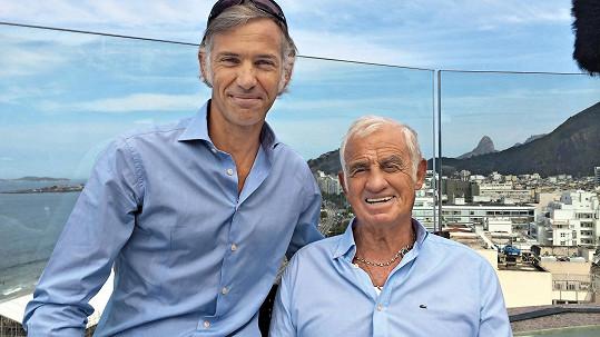 Jean-Paul Belmondo se synem Paulem