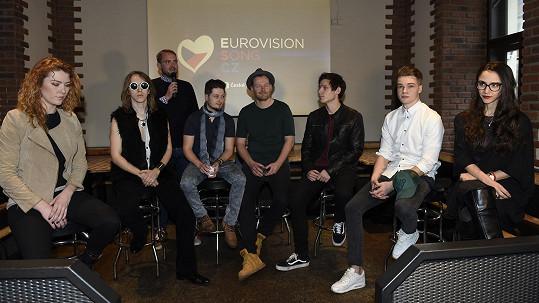 Šestice adeptů na soutěž Eurovize